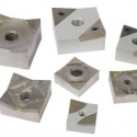 Carbide tipped rotor knives for shredders