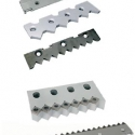 Counter knives for shredders in standard quality or with carbide insert