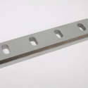 Rotor and counter knives for granulators in a traditional version or with a carbide insert