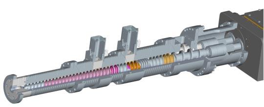 Plastic Extrusion Equipment Efactor3